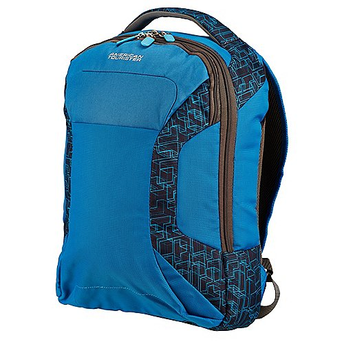 American Tourister Road Quest Laptoprucksack 43 cm bluestar print