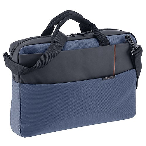 Samsonite Qibyte Laptop Bag 44 cm - blue