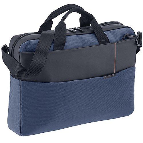 Samsonite Qibyte Laptop Bag 45 cm - blue