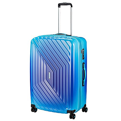 American Tourister Air Force 1 Gradient Spinner 76 exp - gradient blue Sale Angebote Hermsdorf