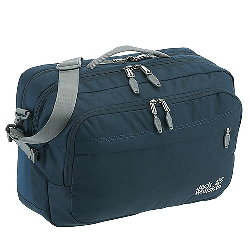 Jack Wolfskin Pot De Luxe Bag Umhängetasche mit Laptopfach 43 cm - night blue