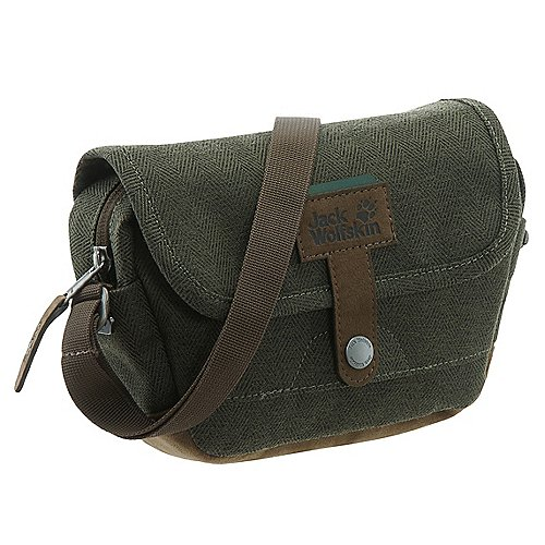 Jack Wolfskin Daypacks Bags Tweedster Umhängetasche 21 cm woodland green auf Rechnung bestellen