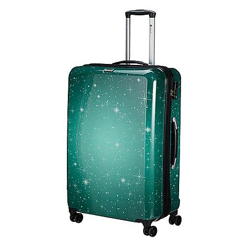 Check In Galaxy 4-Rollen-Trolley 77 cm - grün Sale Angebote Hosena
