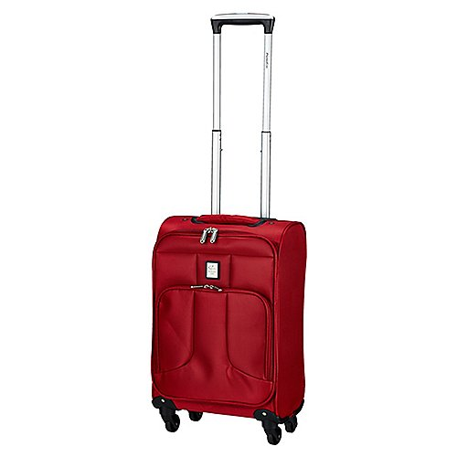 Groß Luja Angebote Paradise by Check In Florenz 4-Rollen-Bordtrolley 55 cm - rot