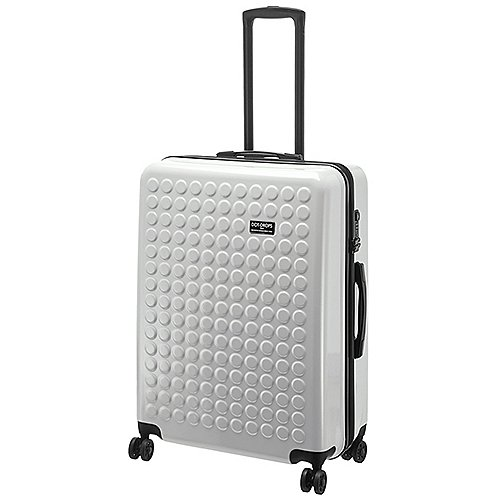 Dot-Drops Chapter II 4-Rollen-Trolley 71 cm - white Preisvergleich