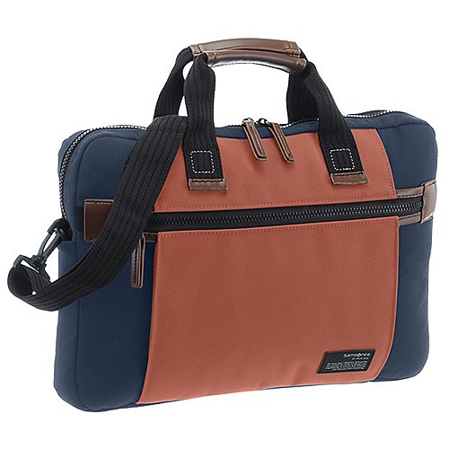 Samsonite Sideways Laptop Tasche 39 cm - blue-o...