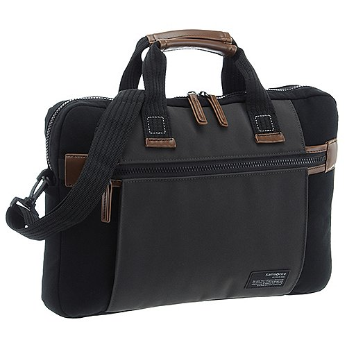 Samsonite Sideways Laptop Tasche 39 cm - black-...