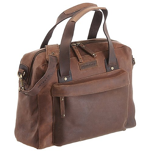 Harolds Antik Aktentasche mit Laptopfach 35 cm Produktbild
