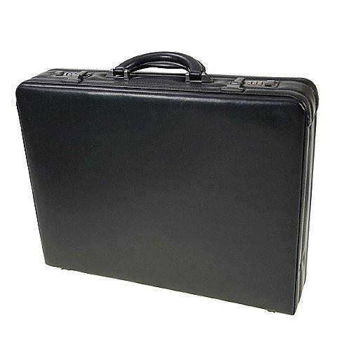 d&n Business Line Aktenkoffer aus Leder 46 cm - schwarz Preisvergleich
