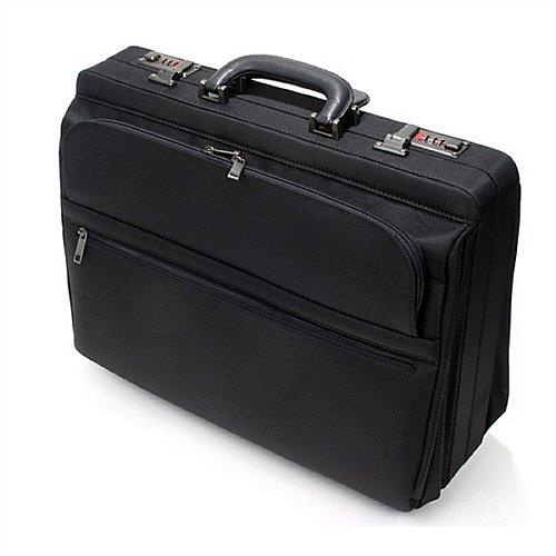 d&n Business Line Aktenkoffer aus Nylon - schwarz Preisvergleich