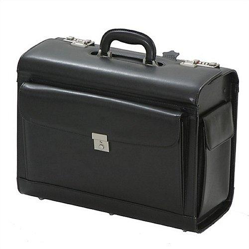 d&n Business & Travel Pilotenkoffer aus Leder Produktbild