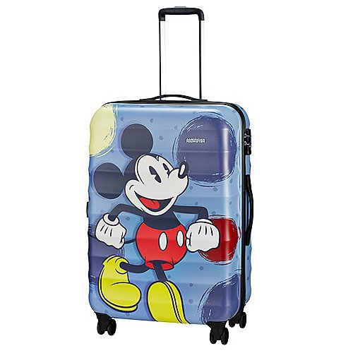 Dissen-Striesow Angebote American Tourister Palm Valley Disney 4-Rollen-Trolley 77 cm - Micky Style