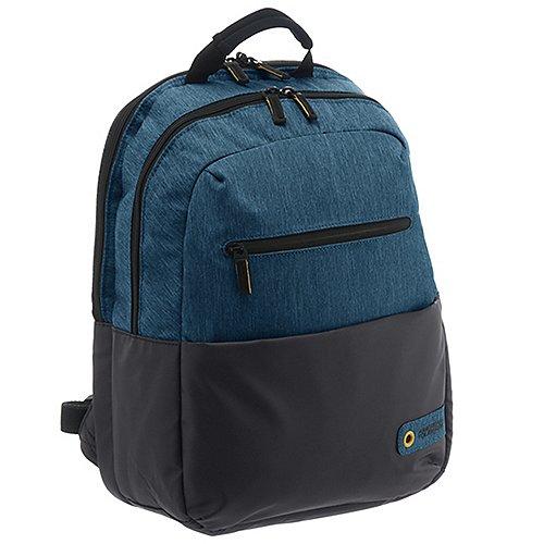 American Tourister City Drift Laptoprucksack 40 cm black blue