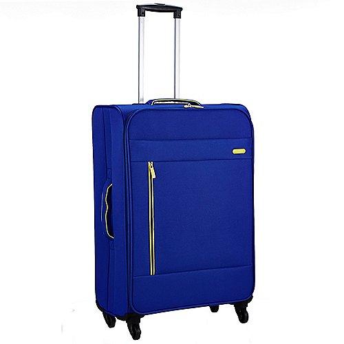 Pack Easy Clipper Elba 4-Rollen-Trolley 74 cm - blau/grün Sale Angebote Hermsdorf
