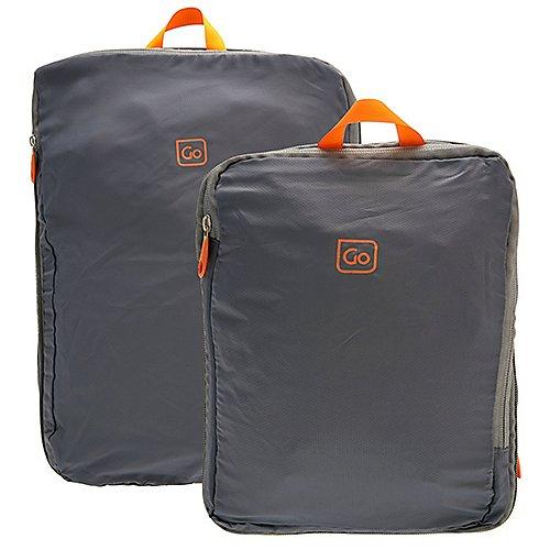 Design Go Reisezubehör 2er Set Zip Cubes Packtaschen Produktbild