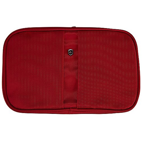 Victorinox Lifestyle Accessories 4.0 Kosmetiktasche mit Rundum-Reissverschluss 28 cm - red