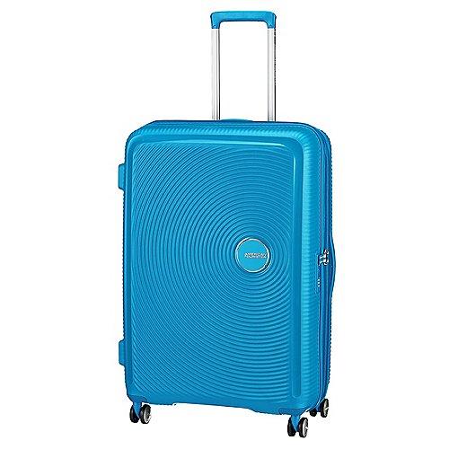 American Tourister Soundbox 4-Rollen-Trolley 77 cm - summer blue