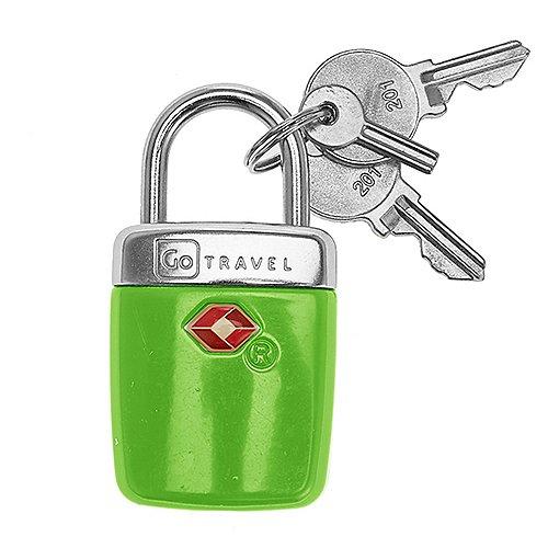 Design Go Reisezubehör Travel Sentry Alert TSA Vorhängeschloss mit Schlüssel Produktbild