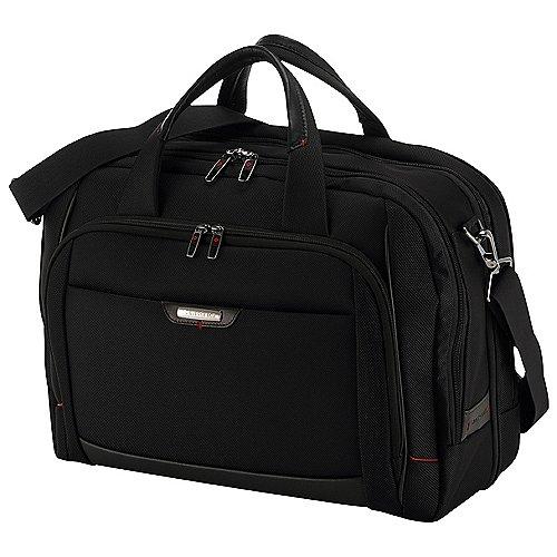 Samsonite Pro-DLX 4 Laptop Bailhandel Businesstasche 44 cm erweiterbar - black