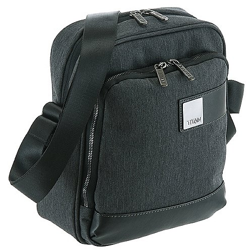 Titan Power Pack Schultertasche 26 cm mixed grey