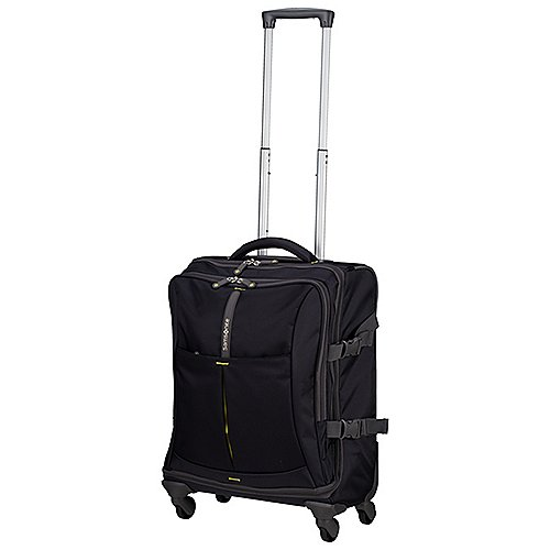 Samsonite 4Mation 4-Rollen-Kabinentrolley 55 cm - midnight blue-yellow