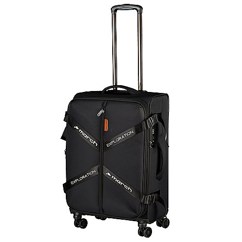 March 15 Trading Exploration 4-Rollen-Trolley 65 cm - black
