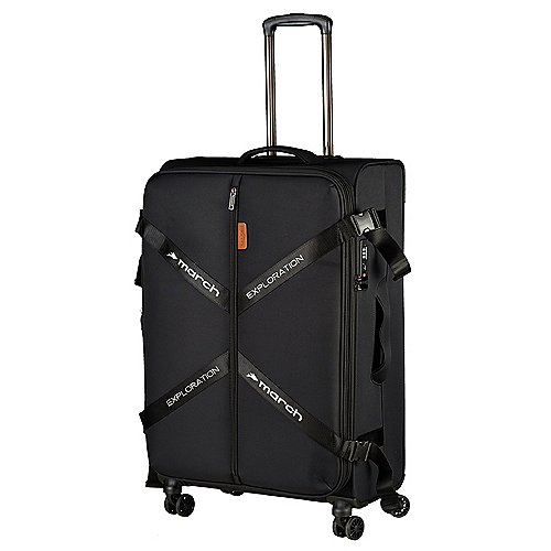 March 15 Trading Exploration 4-Rollen-Trolley 75 cm - black
