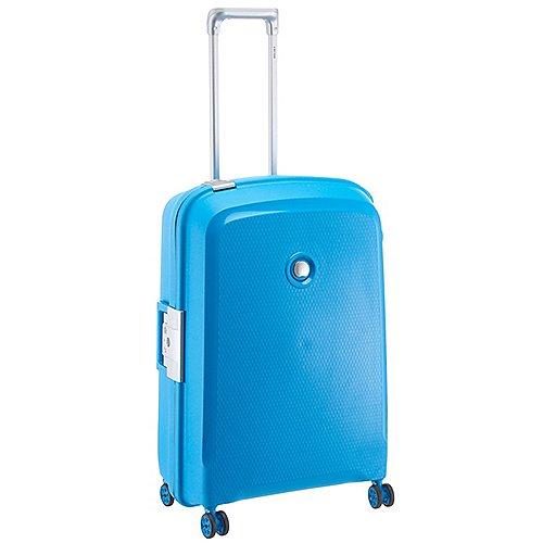 Delsey Belfort Plus 4-Rollen-Trolley 70 cm - petrol blau