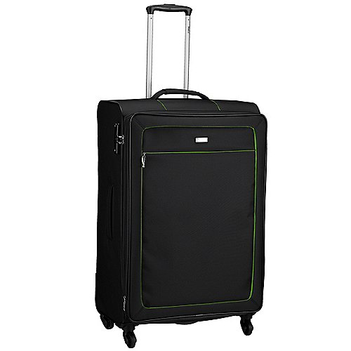Stratic Clarito Light 4-Rollen-Trolley 79 cm - schwarz
