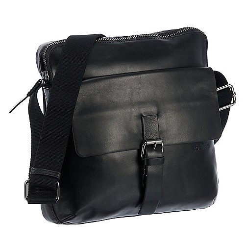 Strellson Scott ShoulderBag Schultertasche 27 cm black