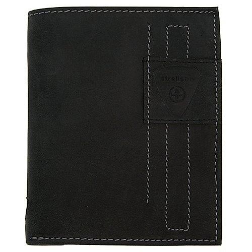 Strellson Richmond BillFold V12 Hochformatbörse 13 cm - black