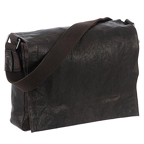 Strellson Coleman Messenger mit Laptopfach 39 cm - dark brown