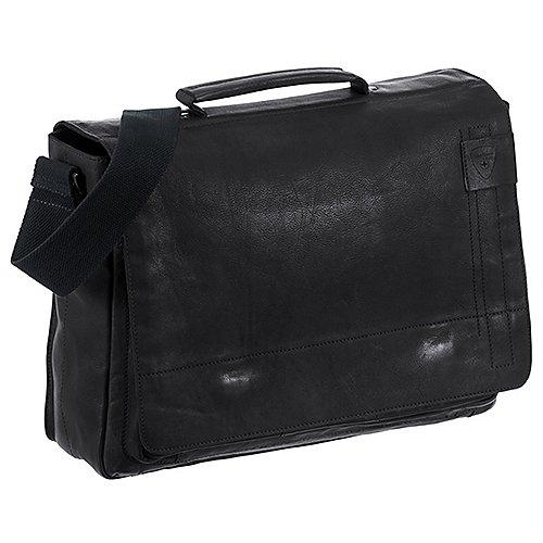 Upminster Aktentasche 40 cm Laptopfach Strellson black jetztbilligerkaufen