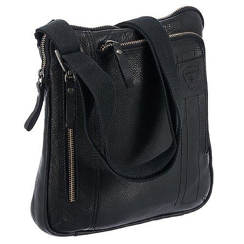 Upminster Umhängetasche Leder 23 cm Strellson black jetztbilligerkaufen