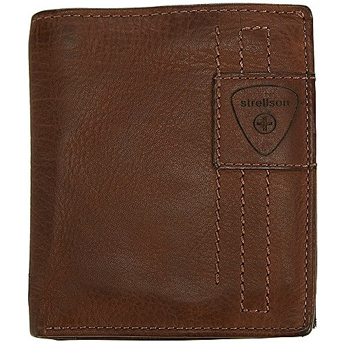 Upminster Geldbörse Leder 10 cm Strellson cognac - broschei