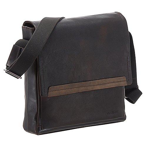 Strellson Camden Schultertasche MVF 31 cm - dark brown