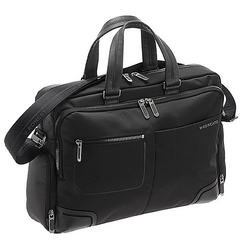 Roncato Wall Street Aktentasche 39 cm - black