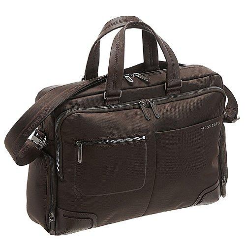 Roncato Wall Street Aktentasche 39 cm - brown