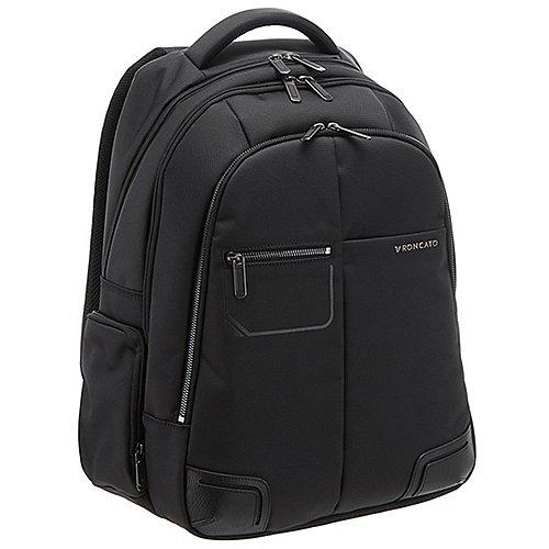 Roncato Wall Street Laptop Rucksack 44 cm - black
