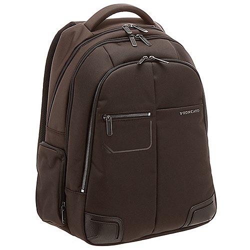 Roncato Wall Street Laptop Rucksack 44 cm - brown