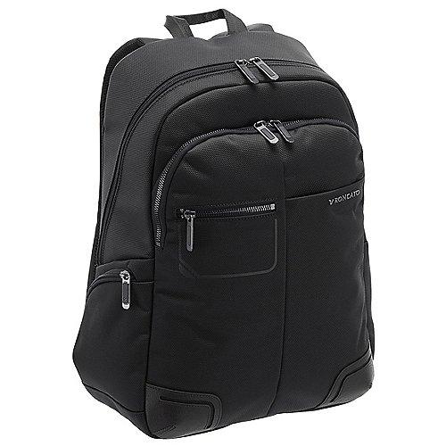 Roncato Wall Street Laptop Rucksack 43 cm - black