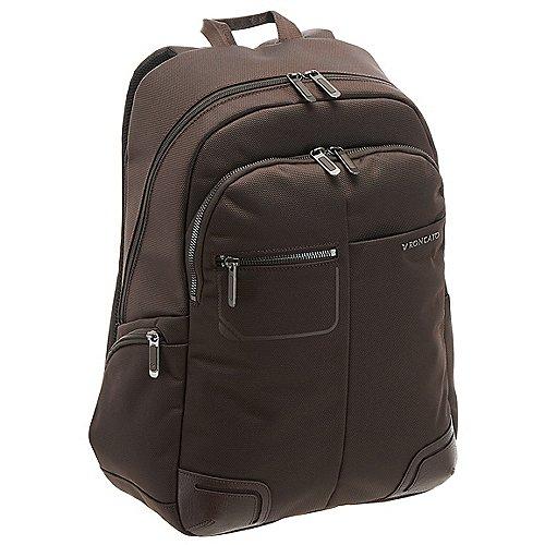 Roncato Wall Street Laptop Rucksack 43 cm - brown