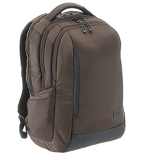 Roncato Desk Laptop Rucksack 45 cm - dark brown