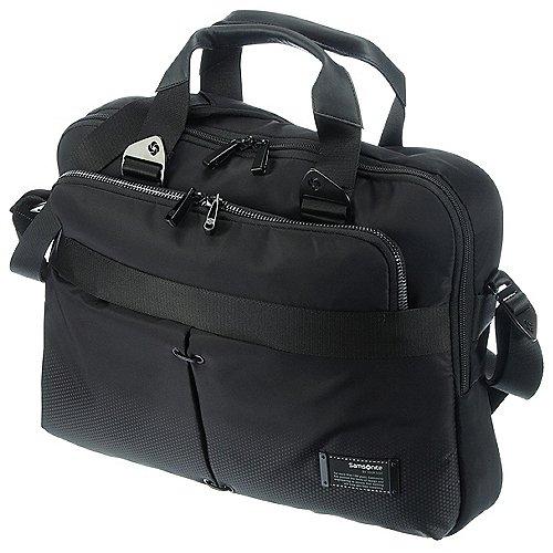 Samsonite CityVibe Bailhandle Umhängetasche mit Laptopfach 43 cm - jet black