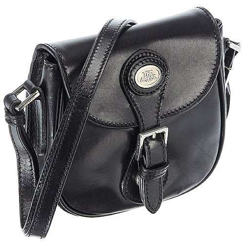 The Bridge Essential Handtasche 17 cm - schwarz