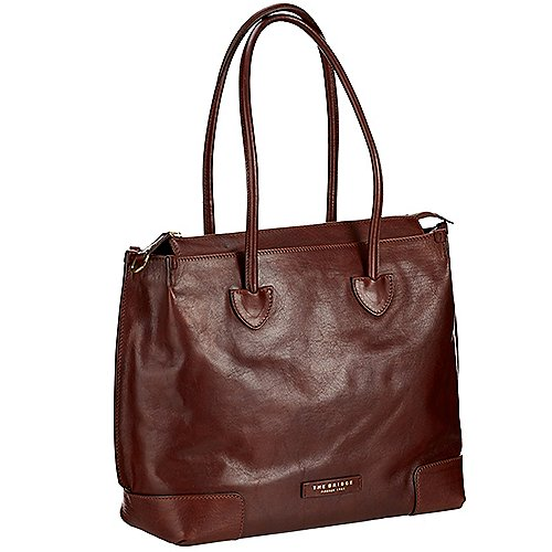The Bridge Arrow Shopper 40 cm - marrone/oro bei Koffer-Direkt.de
