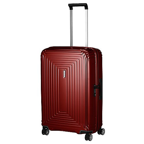Samsonite Neopulse 4-Rollen-Trolley 69 cm - metallic red
