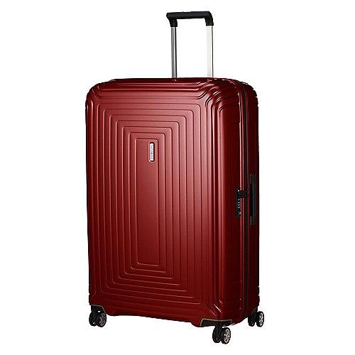 Samsonite Neopulse 4-Rollen-Trolley 81 cm - metallic red