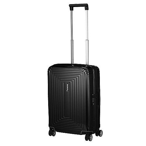 Lauchhammer Angebote Samsonite Neopulse Spinner 4-Rollen-Handgepäcktrolley 55 cm - metallic black