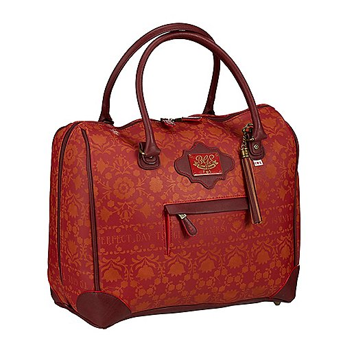 Blutsgeschwister Orient Express Reserved Compartment Case 37 cm - red autumn